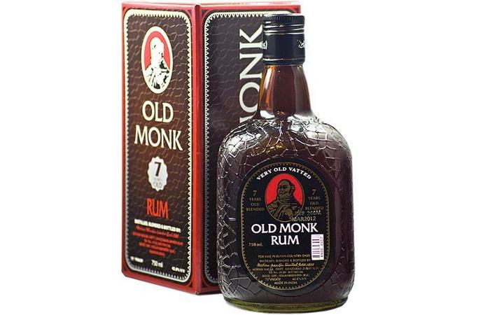 Ром Rum Old Monk