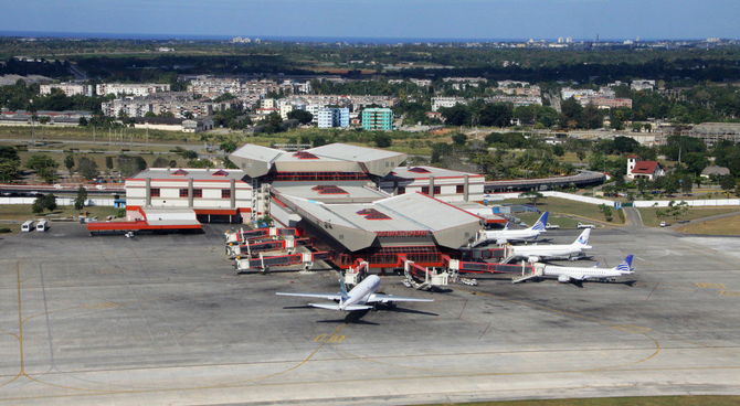 Международный аэропорт в Гаване