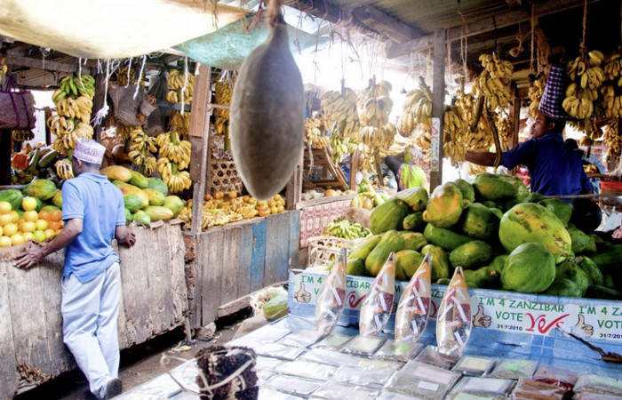 Рынок Занзибара