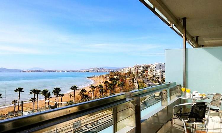 Вид из отеля в Афинах