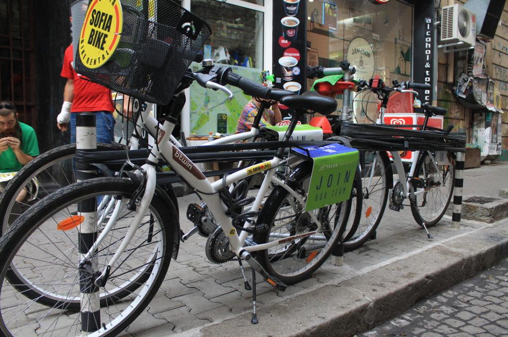 Аренда велосипеда в Софии