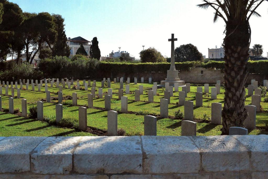 Военное кладбище в Хайфе