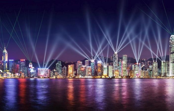 Лазерное шоу «Симфония света»