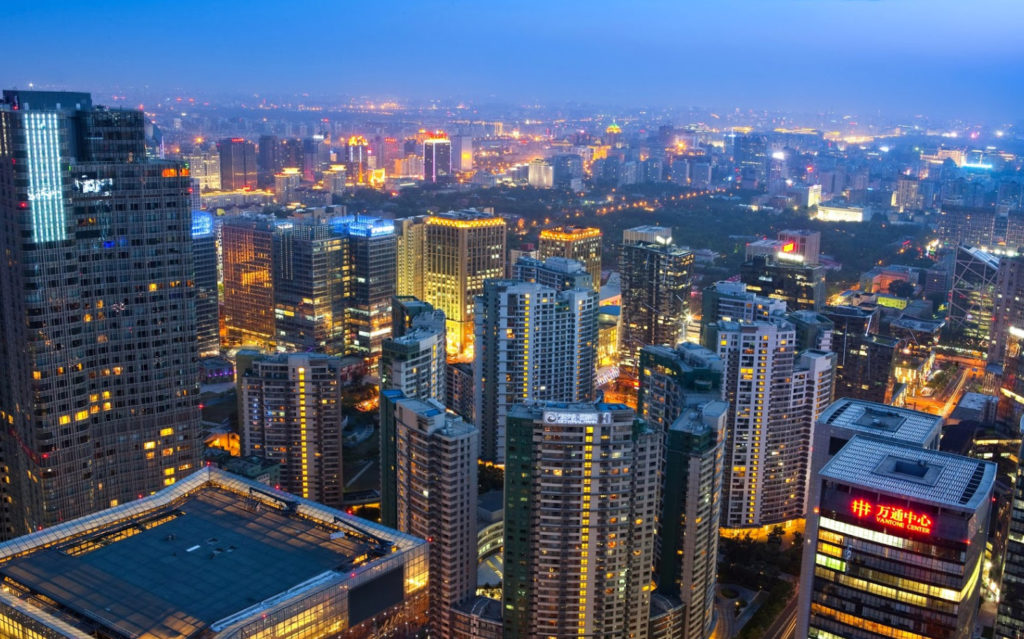 Небоскребы Пекина