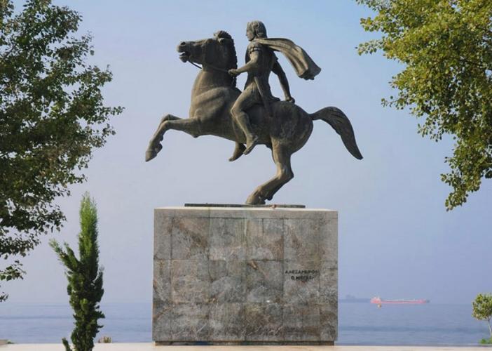 Памятник Александру Македонскому