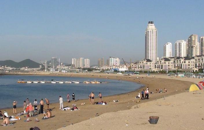 Пляж «Синхай»