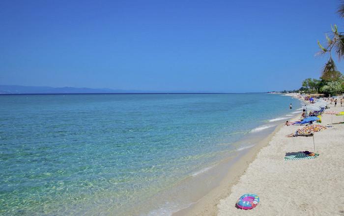 Пляж Ханиоти, Халкидики