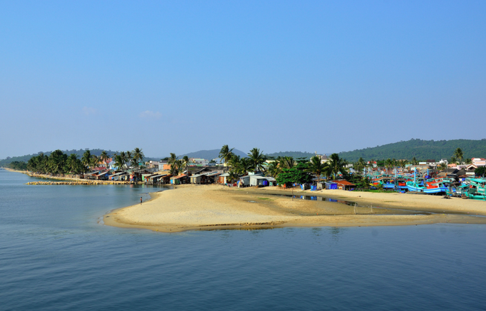 Пляж Cua Can