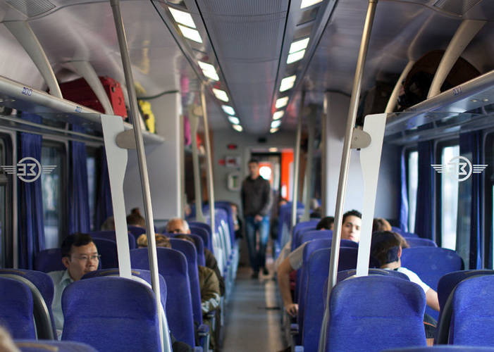 Поезд в Салоники