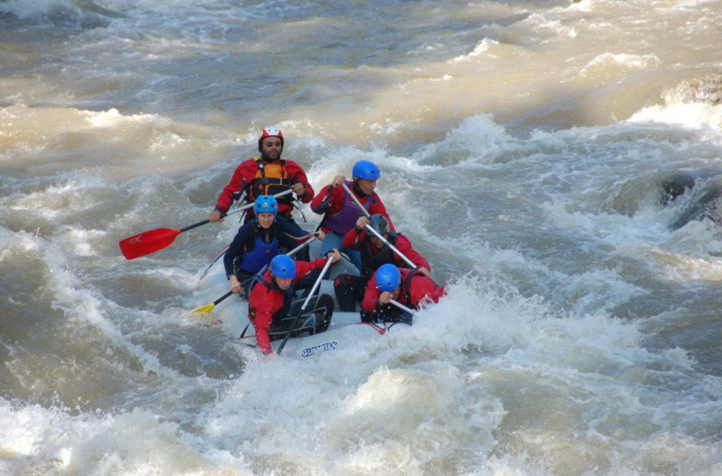 Рафтинг по реке Струма