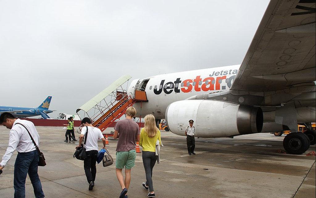 Самолет в Дананг