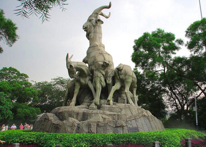 Статуя 5 козлов