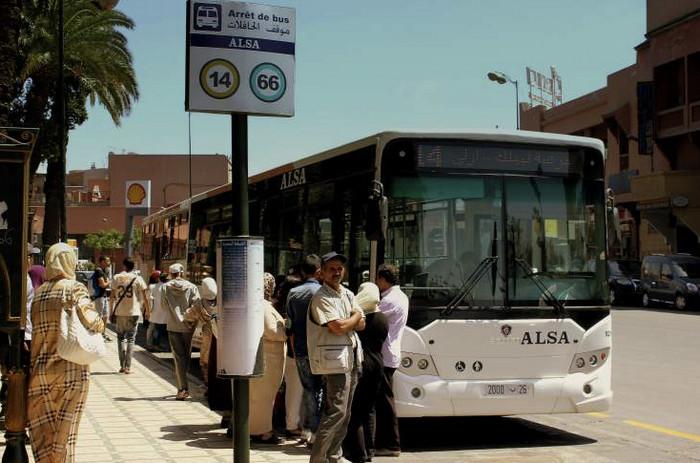 Транспорт в Марракеше
