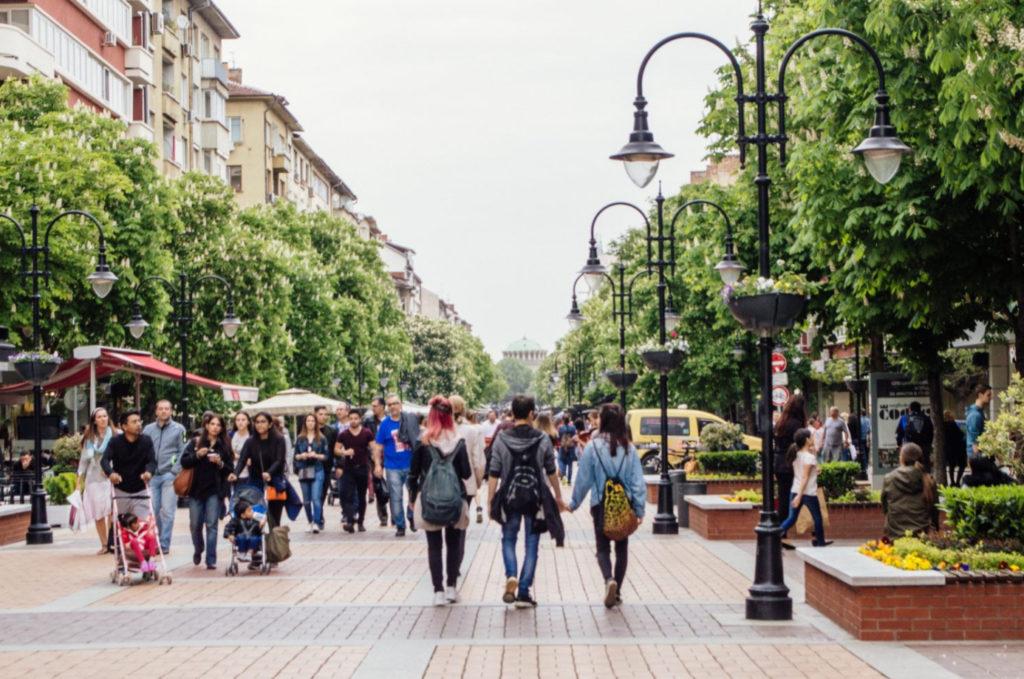 Улицы Софии