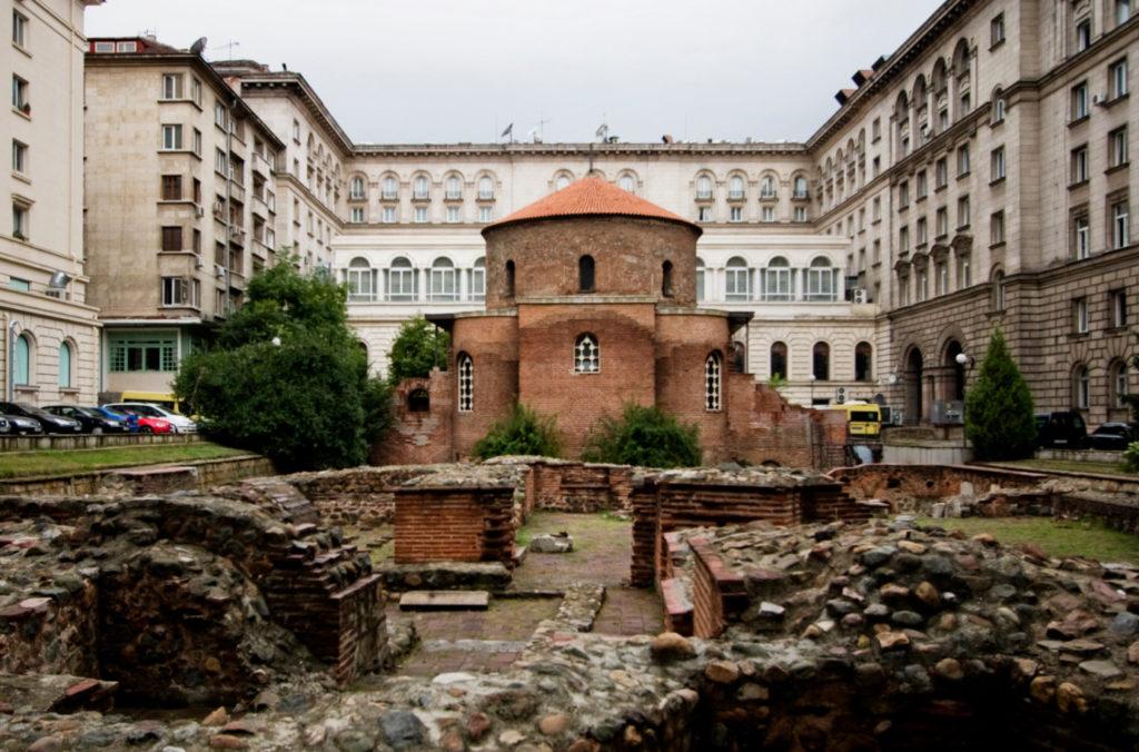 Церковь св. Георга - древнейшая в Софии