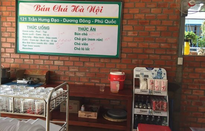 Bun Cha Ha Noi - Phu Quoc
