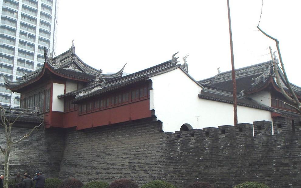 Старая часть города Шанхай