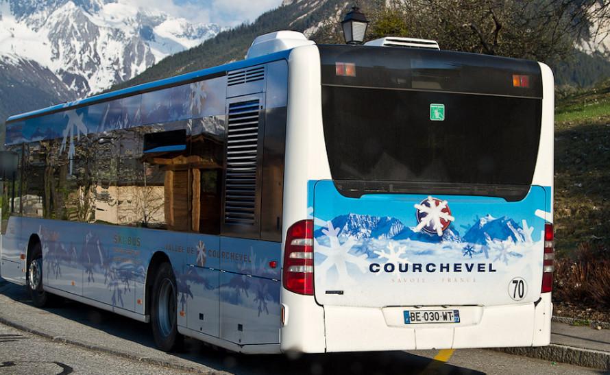 Автобус в Куршавель