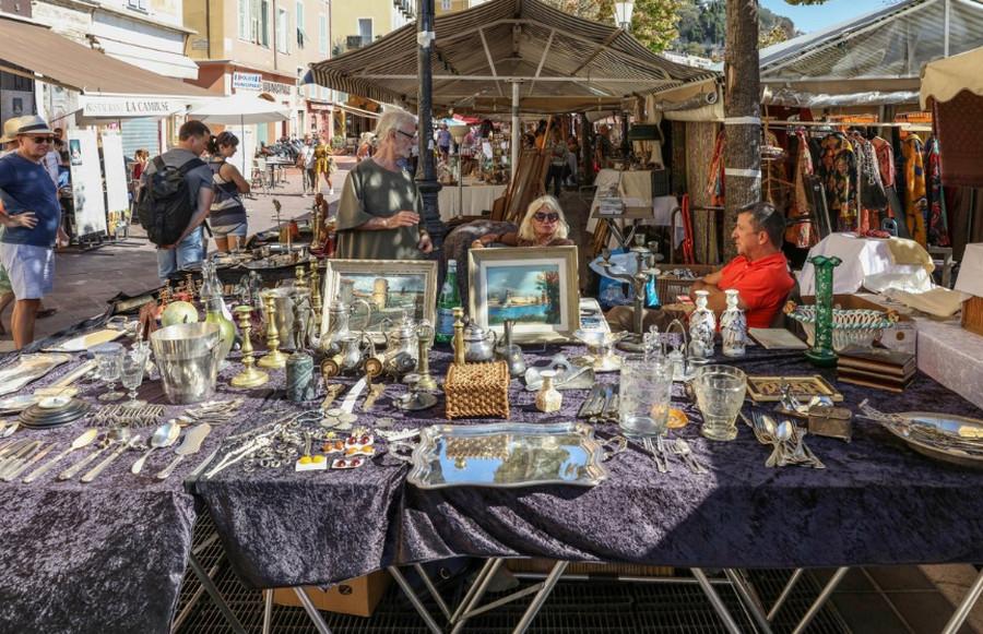 Блошиный рынок в Ницце