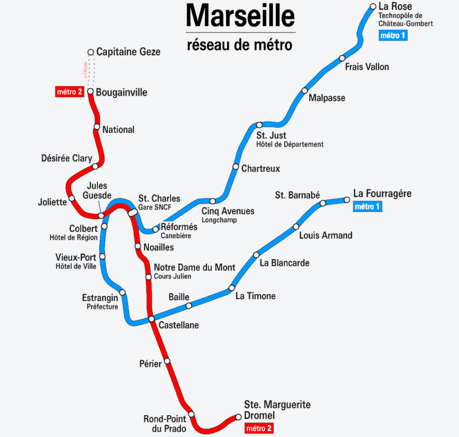 Марсельский метрополитен