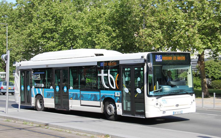 Автобус в Бордо