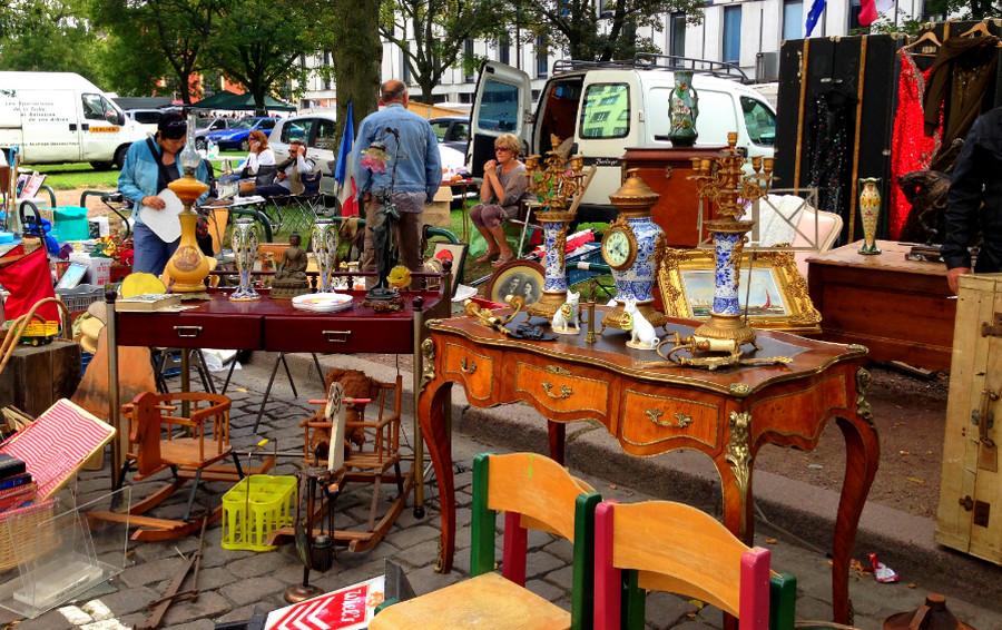 Блошиный рынок в Лилле