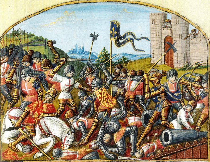 Капитуляция английского гарнизона в Бордо - 1453 год