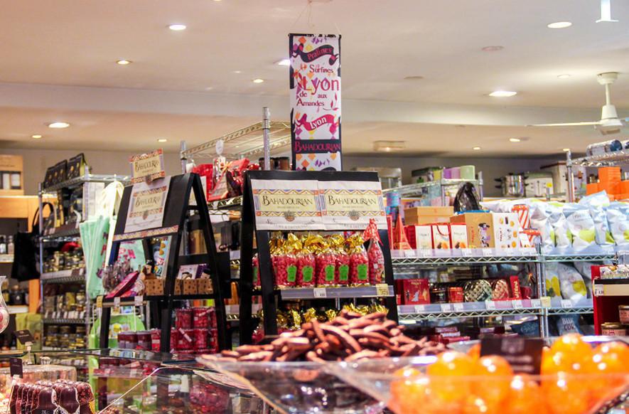 Магазин в Лионе