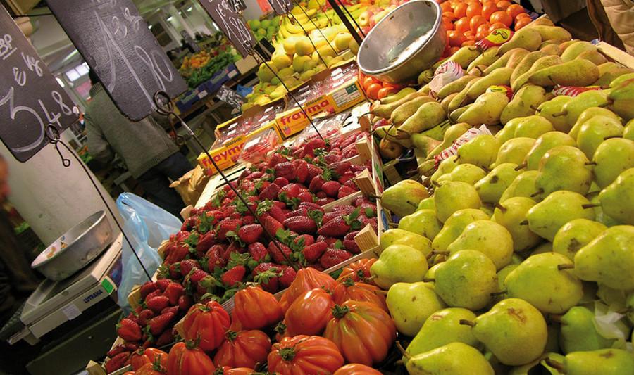 Супермаркет в Каннах