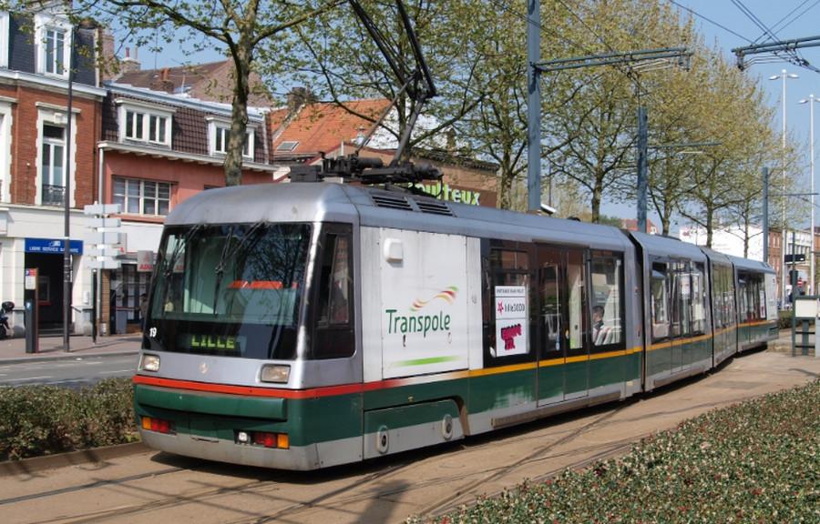 Трамвай в Лилле