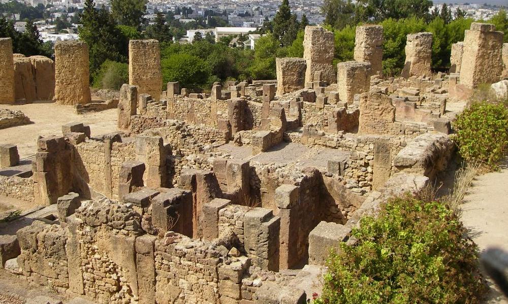 Развалины римских вилл