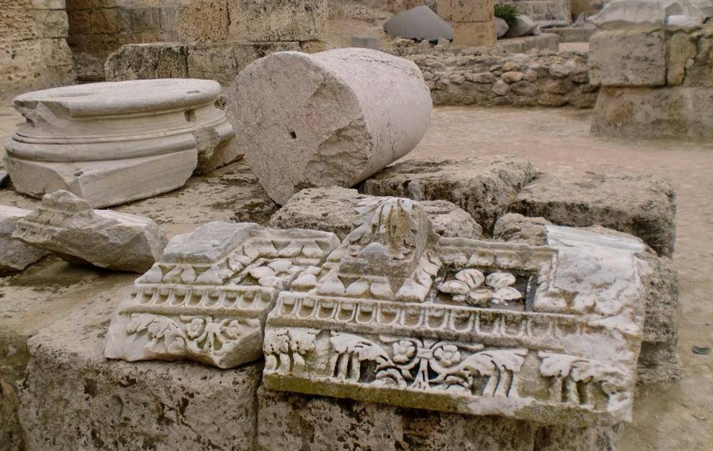 Раскопки в Карфагене