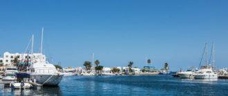 Порт-эль-Кантауи в Тунисе
